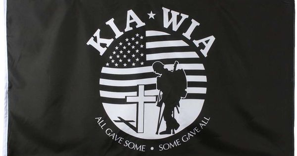 Kia Wia All Gave Some Some Gave All Korean War 3 X 5 Flag Military Logo Corporate Logo