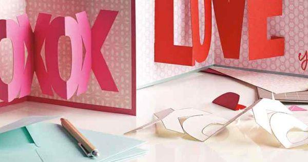 Valentine's Day idea - Craft these heartfelt wishes for your valentine.