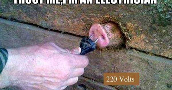 Must See Imagery 50 Funny Pics To Brighten Your Tuesday Guyism Funny Pictures Joke Stories Electrician Humor