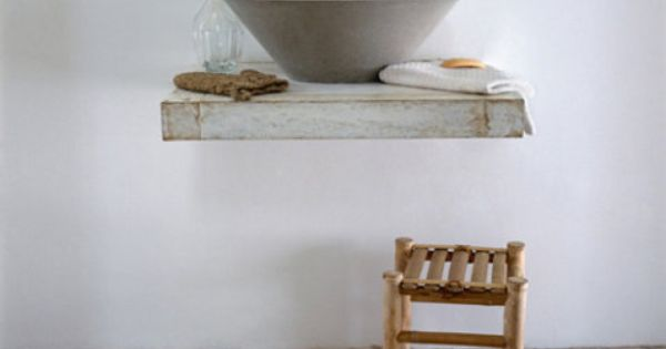 Concrete sink marvel. bathroom, design