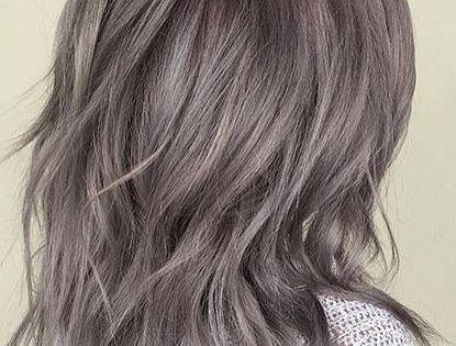 Metallic Pearl Gray Hair Color Hairstyles Pinterest