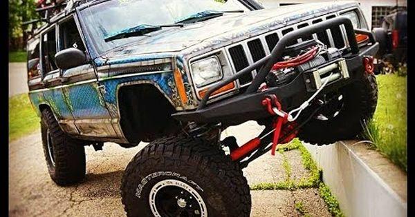 Upgraded Jeep Cherokee Walk Around 6 5 Lift 35 S Dragoneer