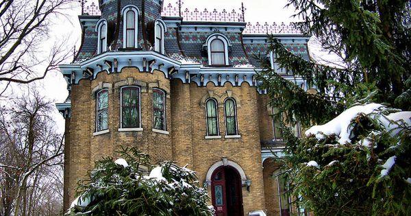 Glanmore house 1883 belleville ontario tanto en for Casa revival gotica
