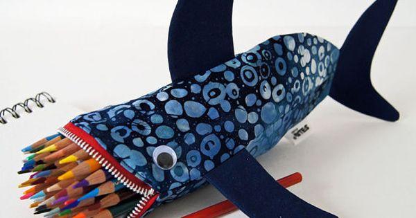 shark pencil bag