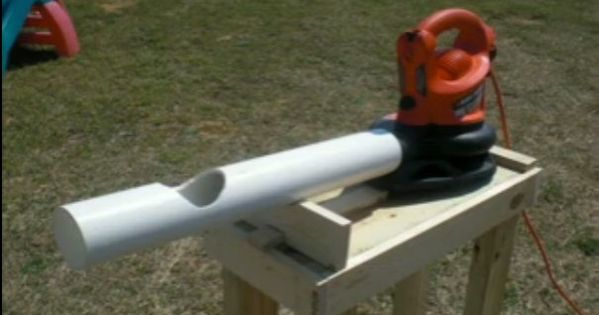 Home Made Pitching Machine For Kids For The Kids