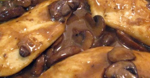 Chicken marsala, The mushroom and Weight watcher recipes on Pinterest