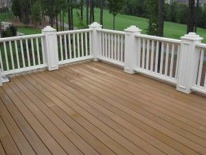 Can You Stain Composite Decking Trex