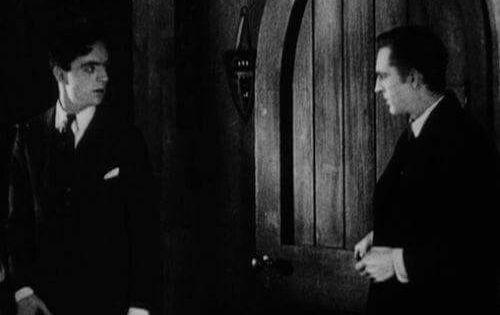William Powell And John Barrymore In Sherlock Holmes 1922 John Barrymore New York Studio Sherlock Holmes