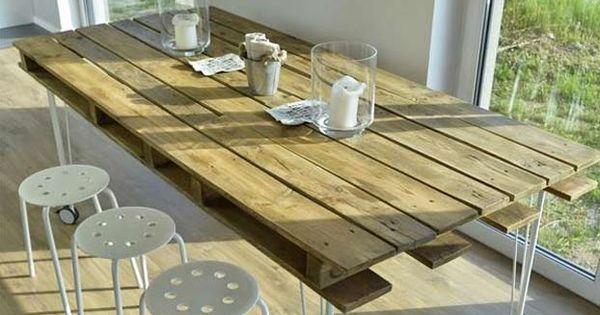 5 tavoli in legno economici e fai da te eco design for Economici rivestimenti in legno