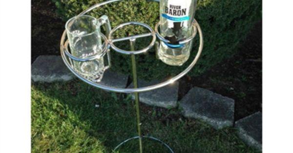 Sheilashrubs Com Backyard Butler Deluxe Drink Holder 82249 Outdoor Drink Holder Drink Holder Drinks