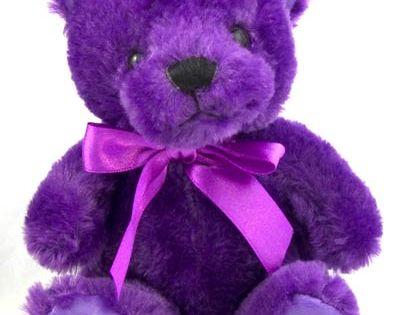 Plush Purple Teddy Bear | Epilepsy awareness, The purple ...