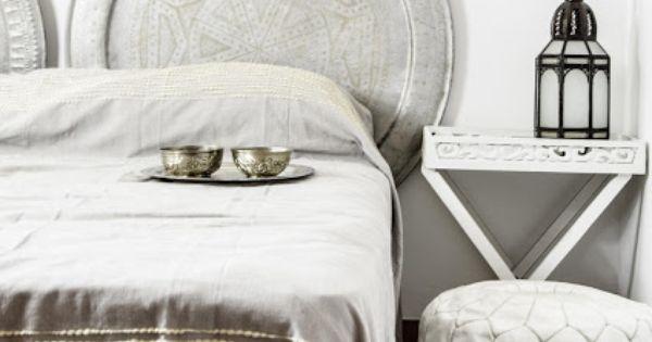 Marokkaanse slaapkamer bedroom maroc oosters oriental pinterest marokkaanse - Grijze hoofdslaapkamer ...