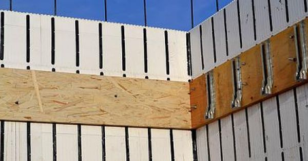 How To Frame A Floor Inside Icf Walls Part 2 Floor Joists Ana White Woodworking Projects Icf Walls Diy Log Cabin Flooring