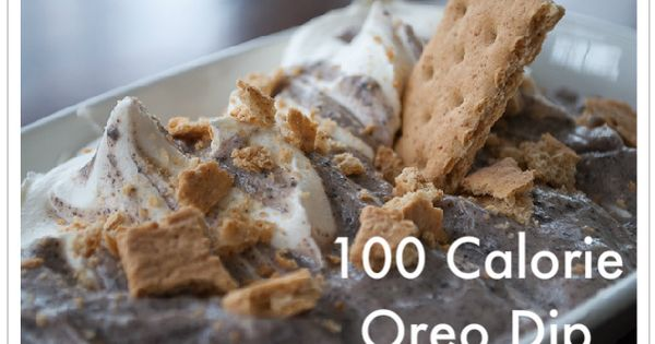 100 Calorie Oreo Chobani Dip plus other great Chobani recipes!