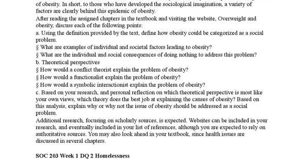 Soc 302 entire class Job analysis