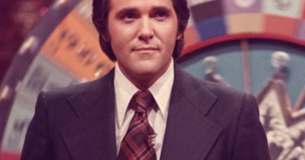 Chuck Woolery the original host of the Wheel of Fortune ...