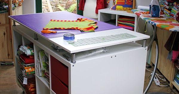kallax n htisch zuschneidetisch expedit cutting table capita galant zuk nftige projekte. Black Bedroom Furniture Sets. Home Design Ideas