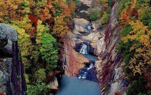 Tallulah Falls, Tallulah Gorge State Park, Georgia