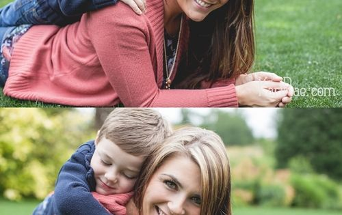 Mom & Son poses, Mommy & Me Session | Portland Family Photographer,
