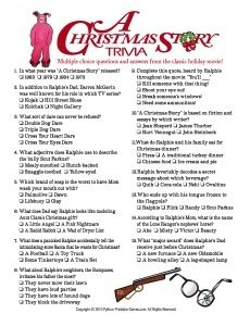 photograph relating to A Christmas Story Trivia Questions and Answers Printable known as Xmas Trivia Winter season TR Printable xmas video games