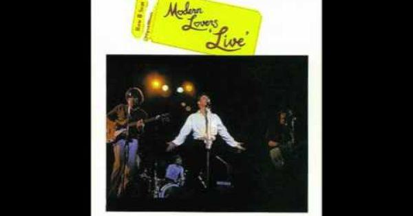 Jonathan Richman The Modern Lovers I M A Little Airplane Live The Modern Lovers Jonathan Richman Rich Man