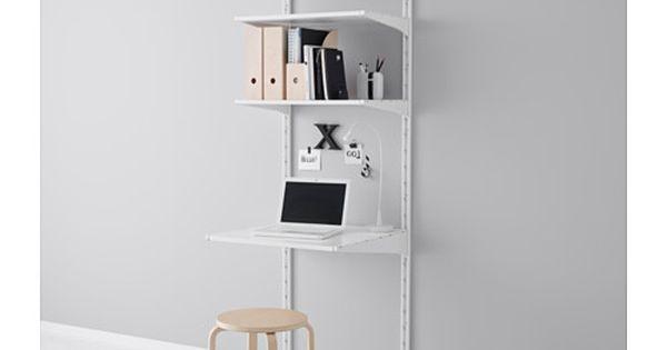 Algot riel susp baldas blanco escritorios despensa y - Estanteria algot ikea ...