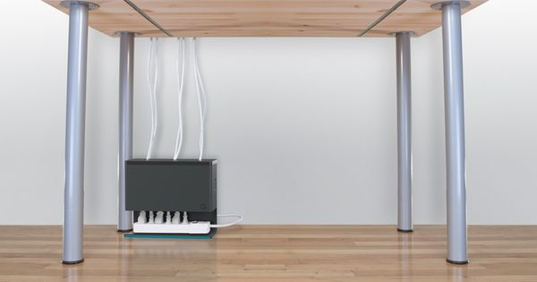 Plug Hub Desk Rangez Moi Ces C 226 Bles House Design Och