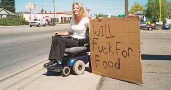 I Mean I M Game Funny Homeless Signs Funny Signs Creepy Photos