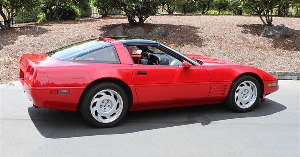 1991 Chevrolet Corvette Zr1 Coup Barrett Jackson Auction Company Corvette Zr1 Chevrolet Corvette Chevrolet Corvette C4