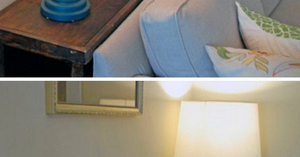 Place A Little Console Table With Storage Behind Your Couch So You