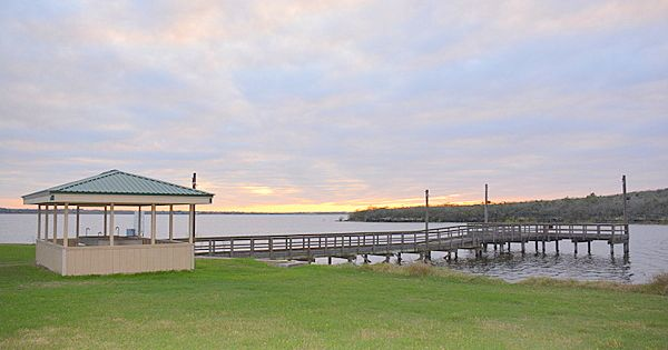Lake Corpus Christi State Park Fish Cleaning Station