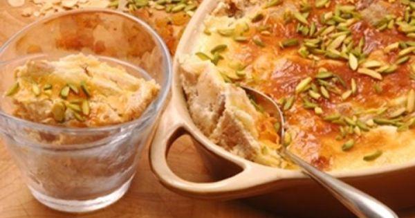 طريقة عمل ام علي بالمكسرات Egyptian Food Foodie Recipes Recipes