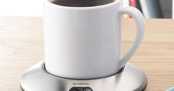 cup warmer. This would be great for me because my coffee or