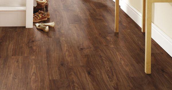 Krono original castello classic harvard walnut laminate for Lock n seal laminate flooring