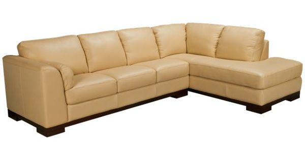 Futura Malibu 2 Piece Leather Sectional Jordan S