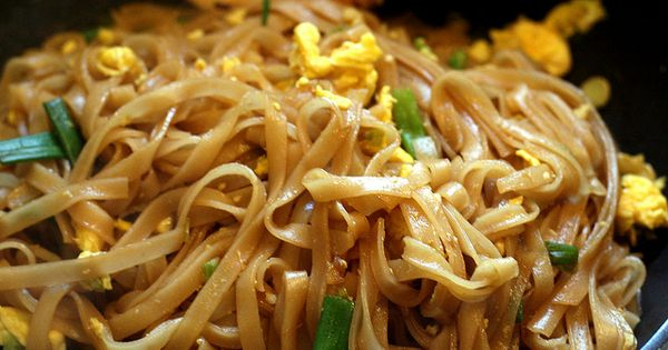 Easy pad thai. Blogger lived in Thailand and said it's closer to