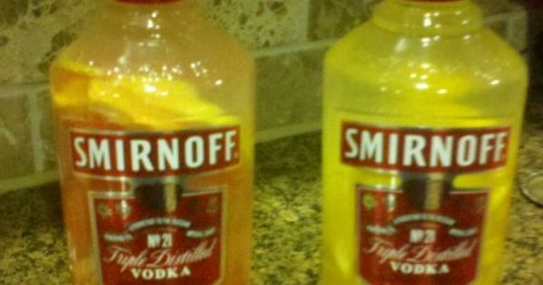 grapefruit and orange slices in my favorite vodka! Fabulous with tonic ...