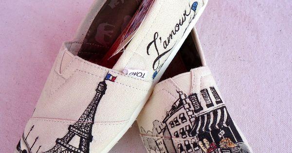 Paris Themed TOMS
