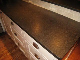 Antiqued Black Pearl Granite Resembles Soapstone Countertop Remodel Leather Granite Stone Kitchen Island