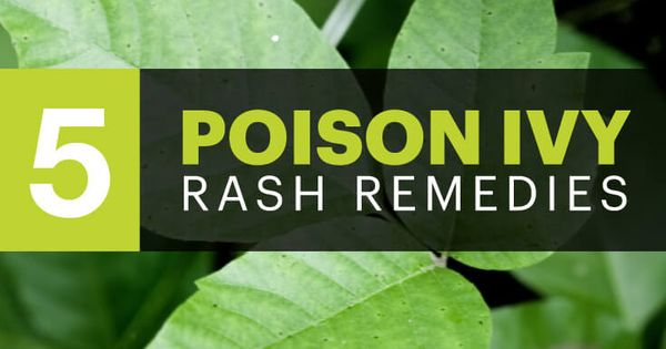 how to get rid of poison ivy on your skin