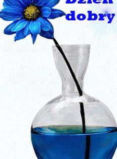 Wiersze Gify Na Dzien Dobry Gify Na Dzien Dobry Kwiaty Glass Vase Flowers Glass