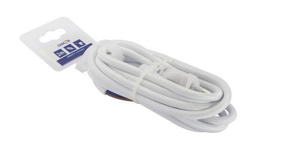 Cable Textile Cordon Et Interrupteur Chacon Interrupteurs Textiles Et Cordons
