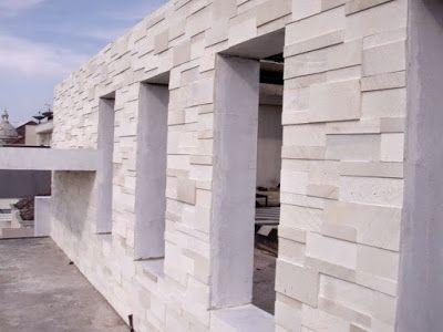 Jenis Batu Alam Terbaik Untuk Dinding Desain Depan Rumah Desain Eksterior Arsitektur