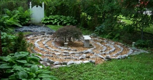 Dise o de jard n con c rculos y espirales jardines for Diseno de jardines caseros