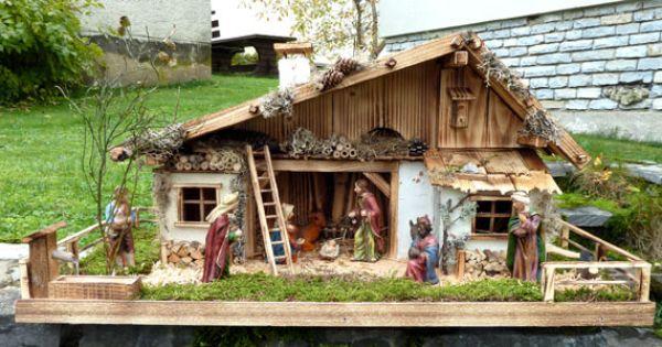 alpenl ndische weihnachtskrippe weihnachtskrippe nativity nacimiento bel n. Black Bedroom Furniture Sets. Home Design Ideas