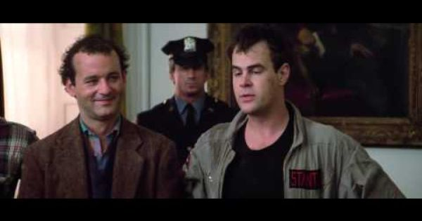 Ghost Busters Dickless Youtube Best Movie Lines Ghostbusters Movie Ghostbusters