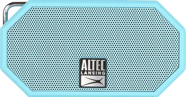 Altec Lansing Mini H2o Bluetooth Speaker Blue Imw257 Ab