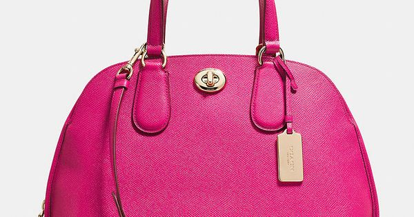 Prince Street Satchel in Crossgrain Leather Cheap Coach Handbags