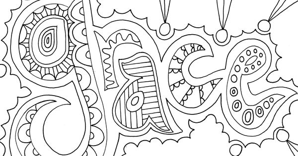 Coloring pages for adults app ~ grace.jpg - MediaFire | Doodles & Coloring pages ...
