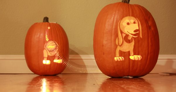 Slinky Dog From Toy Story Halloween Pumpkin Halloween